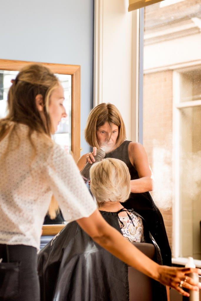 Duo Hair - creating a style